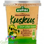 Kupiec couscous with broccoli in cheese & herbs sauce