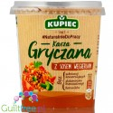 Kupiec buckwheat with goulash souce
