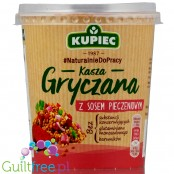Kupiec buckwheat with gravy sauce