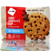 NuGo Dark Chocolate Chip vegan, gluten free protein cookie