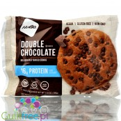 NuGo Double Chocolate vegan protein cookie