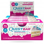 Quest Protein Bar Birthday Cake Flavor