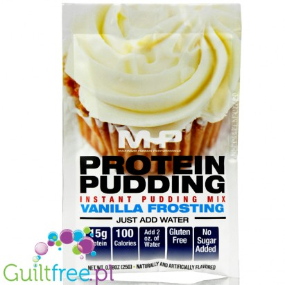 MHP Protein Pudding Vanilla Frosting