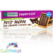 Tagatesse petit buerre with dark chocolate, with tagatose