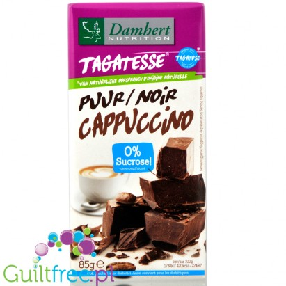 Tagatesse cappuccino dark chocolate with tagatose