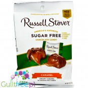 Russell Stover Sugar Free Peg Bag Candy, Butter Cream Caramels