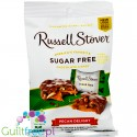 Russell Stover Sugar Free Peg Bag Candy, Pecan Delights, Pecan & Carame