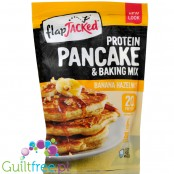 FlapJacked Banana Hazelnut Protein Pancake Mix