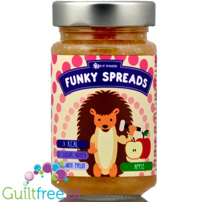 Funky Spreads Apple - Mus jabłkowy 3kcal