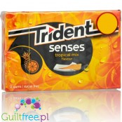 Trident Senses Tropical guma do żucia bez cukru