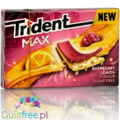 Trident Max Raspberry & Lemon sugar free chewing gum