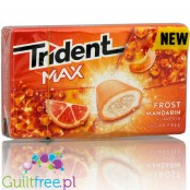 Trident Max Frost Mandarin sugra free chewin gum