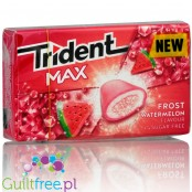 Trident Max Frost Watermelon sugar free chewing gum