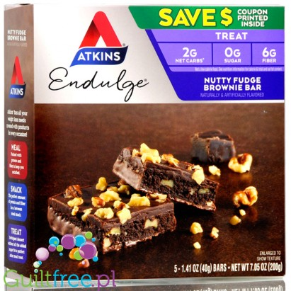 Atkins Nutty Fudge Brownie