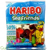 Haribo Sea Friends 30% less sugar jellies with sugar foam