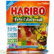 Haribo Fruitilicious 30% less sugar fruit jellies