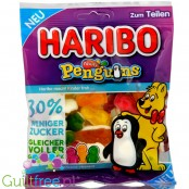 Haribo Penguins 30% less sugar jellies with sweet foam