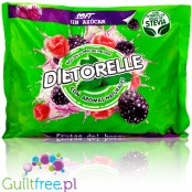 Dietorelle Forrest Fruit Flavored jelly candies, 0,8KG