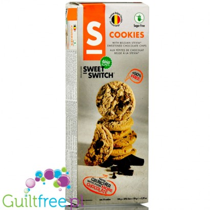 Sweet Switch sugar free cookies with chocolate