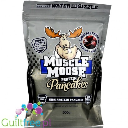 Muscle Moose Protein Pancakes Chocolate Raspberry