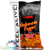 Blair's Death Rain Habanero Pepper Chips