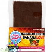 Light Sugar BananaLove sugar free milk chocolate with WPC