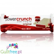 Power Crunch Red Velvet wafelek proteinowy z kremem
