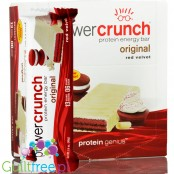 Power Crunch Red Velvet box of 12 bars