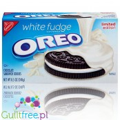 Nabisco Oreo White Fudge w białej polewie (cheat meal)