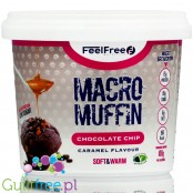 Feel Free Macro Muffin chocolate chip protein muffin with MCT