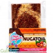 Light Sugar Nugatova - sugar freeprotein milk chocolate