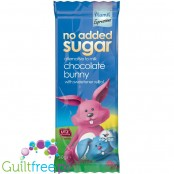 Plamil no added sugar alternative to milk chocolate bunny with xylitol