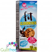 Whoopy Whey sugar free protein cookies with chocolate