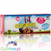 Whoopy Whey sugar free protein cookies with chocolate & cranberries