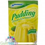 Komet, sugar free and sweetners free Lemon pudding