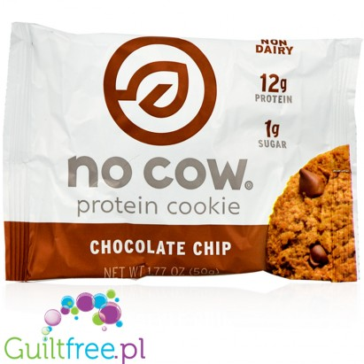 No Cow Vegan Protein Cookie Chocolate Chip