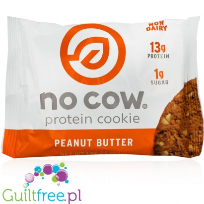 No Cow Vegan Protein Cookie Peanut Butter