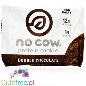 No Cow Vegan Protein Cookie Double Chocolate