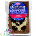 Light Sugar Ore'Love sugar free milk chocolate with WPC and cookies  pieces