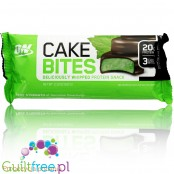 Optimum Nutrition Protein Cake Bites, Whipped Low Sugar Protein Bar, Flavor: Chocolate Min