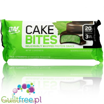 Optimum Nutrition Protein Cake Bites Chocolate Mint
