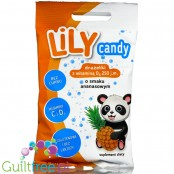 Lily Pineapple, Powdered sugar-free dragee with erythritol and stevia