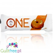 OhYeah One Maple Glazed Donut sugar free, gluten free protein bar