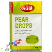 Sulá sugar free Pear Drops 42g