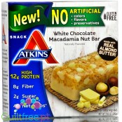 Atkins Snack White Chocolate Macadamia Nut Box