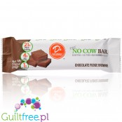 No Cow Chocolate Fudge Brownie vegan protein bar
