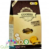 BiaMar Szarotka sugar free, gluten free sandwich cookies with chocolate-cocoa filling