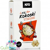 KFD Coconut protein balls with vanilla filling