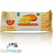 Bhu Fit vegan organic pea protein bar Superfood Peanut Butter & White Chocolate