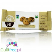 Bhu Fit vegan organic pea protein bar Superfood Chocolate Chip Cookie Dough